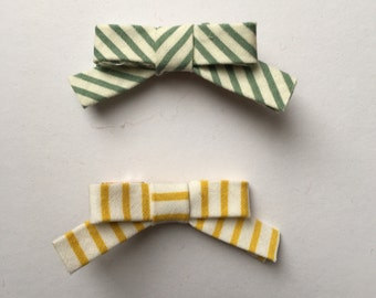 Fabric Bow clips