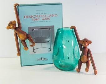 Pair of Kay Bojesen Wooden Toy Monkeys