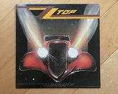 Vintage Record ZZ Top Eliminator Vinyl LP