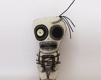 Voodoo Doll Gothic Horror Art Doll Oddities Macabre