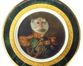 "ON SALE Prince Primate II Portrait Plate 6.9"""