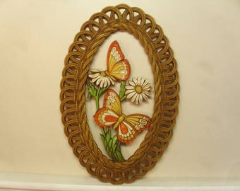 Vintage 1970's  Coppercraft Wall Hanging