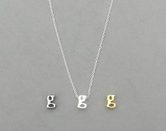 Initial g Necklaces
