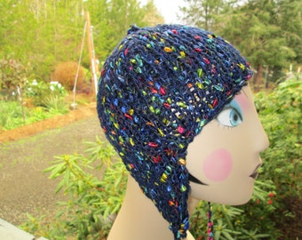 12 Months to Adult Earflap Hat Knitted by SuzannesStitches, Handmade Knitted Earflap Hat, Formal Hats, Funky Hats, Childrens Hats, Teen Hats