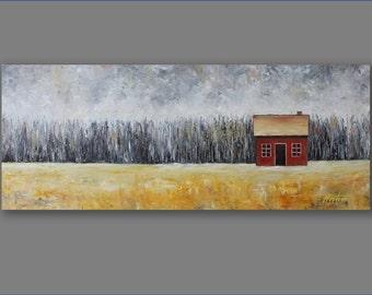 Landscape Painting  Oil Painting Large Painting Art Original Artwork Painting Modern Art Painting by Mirjana