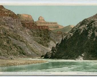 Zoroaster from River Grand Canyon National Park Arizona Phostint postcard