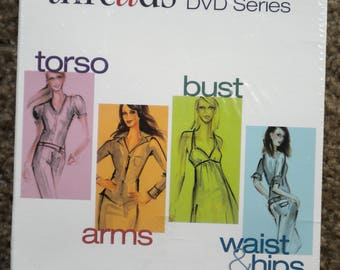 Boxed Set Sewing DVDs Threads Fitting DVD Series Torso Arms Bust Waist & Hips New UnOpened