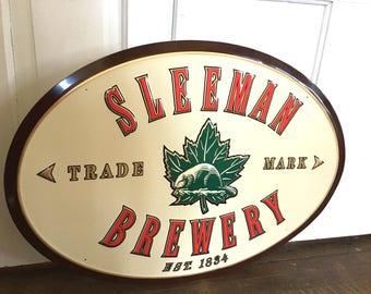 Sleeman Brewery Sign