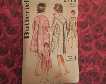 60's Vintage Butterick Sewing Pattern