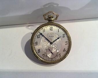 14kt.yellow gold filled Elgin pocket watch