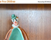 reserved for KnottyLottie SALE 25% OFF SALE vintage mid century ceramic enesco clown candy dish