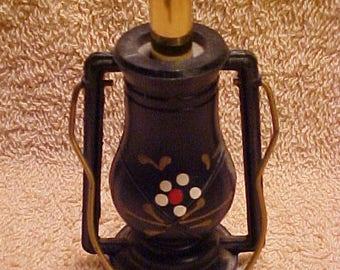 Vintage Miniature Kerosene Lantern Cigarette Lighter