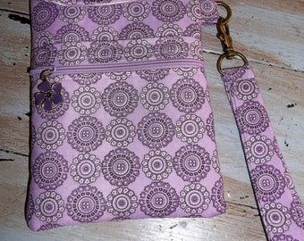 Lavender Cell Phone Case/Wristlet