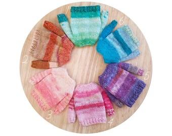 Blythe Monochromatic Frankensweaters