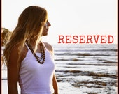 Reserved For Janie