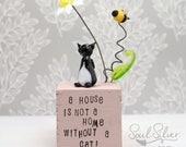 Small Souls Cat House - Ornament
