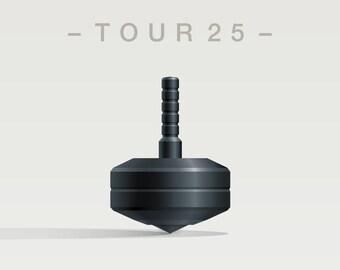 TOUR 25 Spin Top