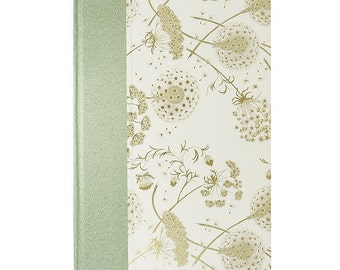 Address Book Large Dandelions and Queen Anne's Lace