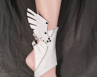 White Hermes Spats