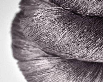 Dead walnut wood - Silk Lace Yarn