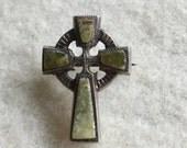 Victorian Connemara Cross Brooch