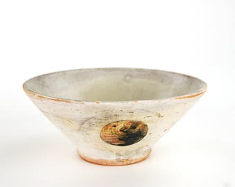 Bowl with Bronze Circle