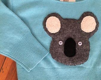 Koala Bear Cashmere Sweater 12-18 mos