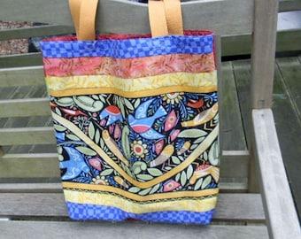 Julie Paschkis Folklorica Birds Market Bag
