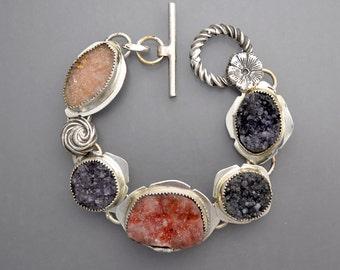 Natural Drusy Bracelet