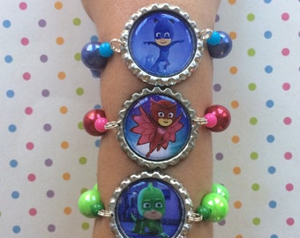 Pj Masks Stretch Bracelets Set of 3