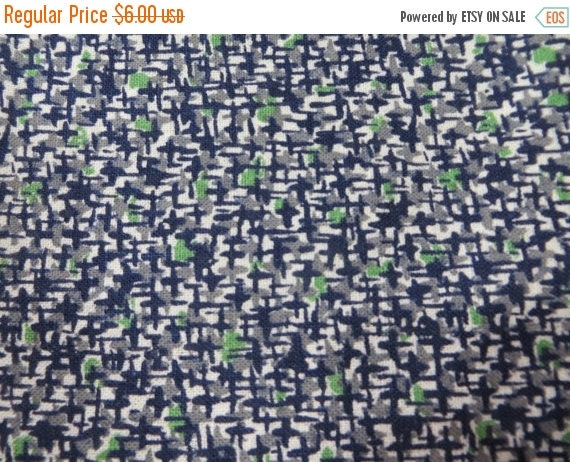ON SALE Vintage Feedsack Fabric-Floral-Full Sack-Fat Quarter-Fabric-Feed sack-1930's