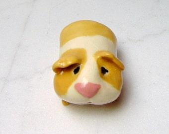 Guinea Pig Miniature - Handmade Terrarium Figurine - Ceramic Animal - Pottery Guinea Pig - Clay Guinea Pig -Planter Box Mini (Studio Choice)
