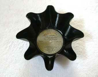 Tom Petty Record Bowl Made From Repurposed Vinyl Album