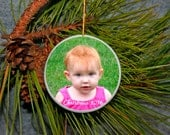 Personalized Christmas Ornament Wedding Ornament Everyday Ornament Photo Ornament Pet Ornament Family Ornament Custom Ornament Ceramic