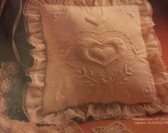 Romantic Sweetheart Pillow by Yours Truly