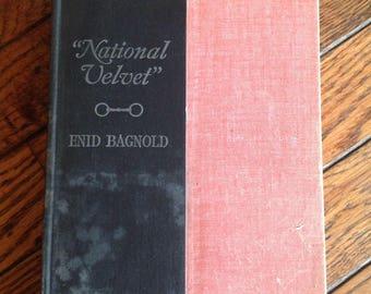 Vintage 1935 National Velvet Enid Bagnold Book
