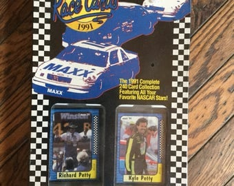 1991 Unopened Maxx Race Cards Nascar Complete Collection