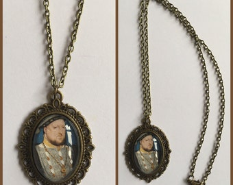 Henry VIII Inspired Cameo Necklace