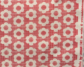 Boho Urban Chiks Flower Child red moda fabric FQ or more