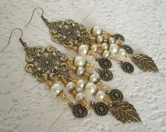 Medieval Earrings, medieval jewelry renaissance jewelry victorian jewelry edwardian wedding art nouveau art deco tudor victorian earrings