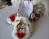 Valentine Kitty Baby Girl Shoes in White, Toddler Girl Shoes