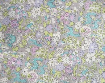 "Liberty tana lawn  printed in Japan  Fergus  100cm or 1.1yards length by 106cm or 42"" wideth"
