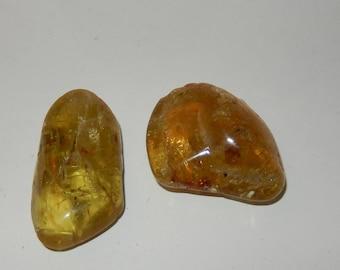 Apatite- yellow polished