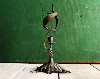 Meriden Silver Plate 551, Bud Vase or Candlestick, Victorian Gothic Silver