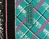 RARE  GIVENCHY Novelle Boutique MINT Condition   Silk Scarf Circa Early  1970s
