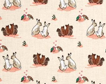 Wilderness Love Ivory Camelot Fabrics 2 yards