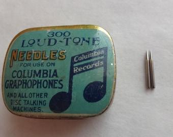 Columbia Gramophone Needles Loud Tone