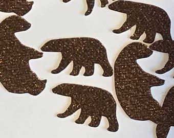 Mama Bear Baby Bear Confetti, Bear Baby Shower Decorations, Bear Decor, Baby Shower Confetti, Bear Cub Confetti