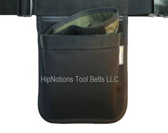 Dog Trainer Walker Basic 3 Pocket Cordura Nylon HipNotions Tool Belts
