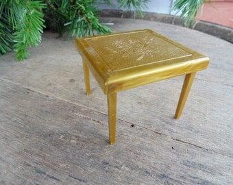 RENWALL Dollhouse. Folding Card Table. Dollhouse Table. Card Table. Dollhouse Furniture. 1950s. Game Room Table. Game Table.